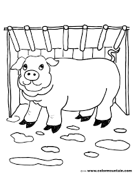 piggy coloring pages interesting peppa pig with piggy coloring