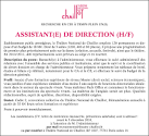 Assistant de direction (h/f) - Talents.