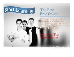 Best Resume For Hotel Management by 6 Best Free Online Hospitality Management Courses