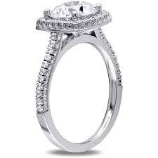 halloween wedding rings miabella 5 carat t g w cubic zirconia sterling silver halo