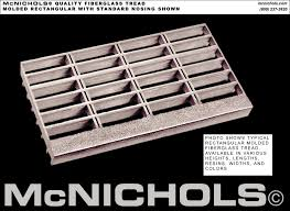 Home Hardware Stair Treads by Mcnichols Quality Msgfr Molded Stair Tread Fiberglass