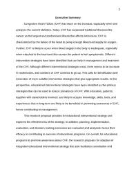 Utilization research for congestive heart failure education     essay on how to help others