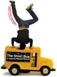 Jonathan Mooney headstand on school bus