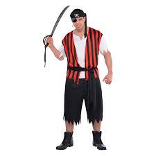 mens womens caribbean pirate captain halloween fancy dress party