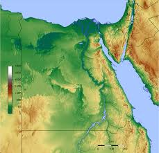 Map Egypt Topographical Map Of Egypt Egypt Pinterest