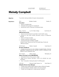 Job Resume Examples 2015 by Simple Nursing Resume Example With Consultant And Asn Bsn Nursing