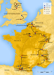 Map Of South Of France by 2014 Tour De France Wikipedia