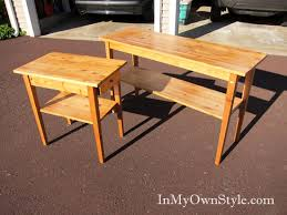 Outdoor Furniture Finish by Painting Furniture Black Stain Vs Black Paint In My Own Style
