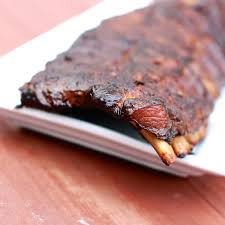 smoked pork ribs on a masterbuilt electric smoker recipe by bobby