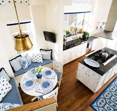modern chic open kitchen dining room interior design sara gilbane