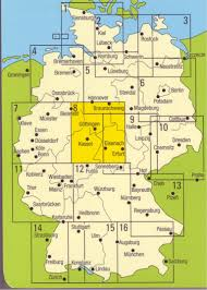 Detailed Map Of Germany by German Maps Guides And Cycling Maps To Buy Online From The Map Shop