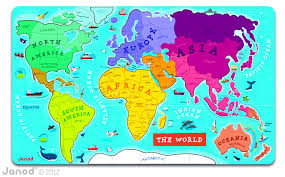 Egypt On A World Map by Janod U0027s Magnetic World Map U2013 Tilda And Tom