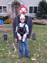 optical illusion baby snatcher costume for a boy halloween