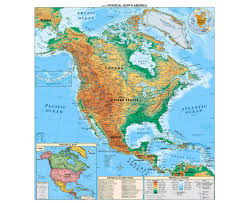 Centro America Map by Maps Of North America And North American Countries Political