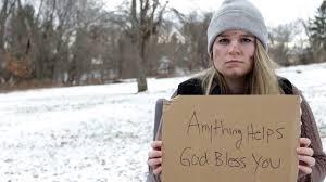 homeless girl|