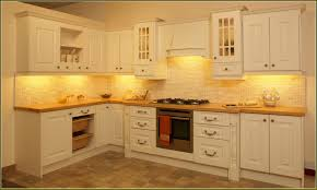 Kitchen Cabinet Under Lighting Luxurious Cream Kitchen Cabinets With Gas Stove Closed Chopping