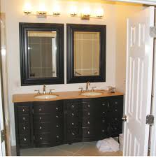 Vanity Dresser Classic Vanity Dresser Plus Wahsbowls Under Vertical Mirrors
