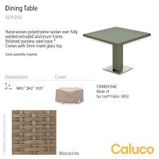Polyethylene Patio Furniture by 10 Tierra Square Pedestal Dining Table Caluco Patio Furniture