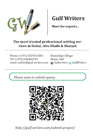 Professional Writing Services in Dubai  Abu Dhabi  Sharjah   gulf wr    SlideShare