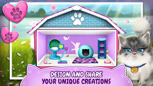 House Design Games App Pet Cat House Decoration Games Android Apps On Google Play