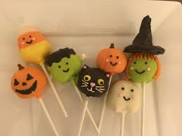 halloween themed cake pops