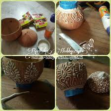 hobby crafts coconut shell box radhika hobbycrafts diy