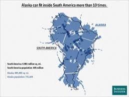 Latam Map Map Overlays Comparing Size Business Insider