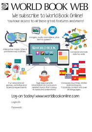 promote your subscription for schools world book online