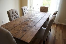 dining room rustic wood dining table on pinterest with glass