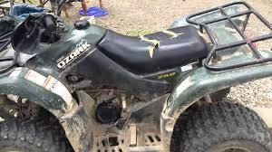 2007 suzuki quadsport z250 manual 2004 suzuki ozark 250cc review youtube