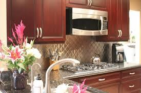 Backsplash Ideas - Kitchen backsplash ideas dark cherry cabinets
