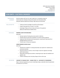 Resume Samples Electrical Engineering by How To Write Electrical Engineer Resume