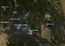 Wild Fires In Oregon Update by Pacific Northwest Wildfires Severe In Intensity Nasa