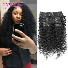 Indian Remy Human Hair Clip In Extensions by Malaysian Curly Human Hair Clip In Extensions Brazilian Virgin