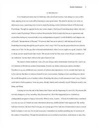 descriptive essay example about a place Example