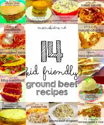 14 easy kid friendly ground beef recipes to try for dinner tonight