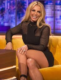 Dating life  Britney Spears is shown on The Jonathan Ross Show where she discussed dating Daily Mail