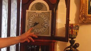 Grandmother Clock Vintage U0027tempus Fugit U0027 Grandfather Clock Youtube