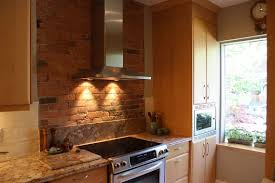 kitchen awesome brick wall kitchen color with orange tile brick
