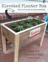 best 25 elevated planter box ideas on pinterest raised planter