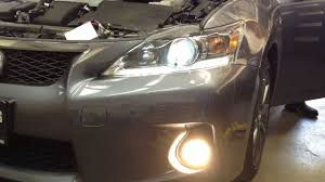 lexus ct200h forum uk how to install replace lexus ct200h hid headlights youtube