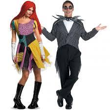 Christmas Halloween Costumes Jack Sally Halloween Costume Jack Skellington