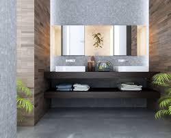 modern bathroom tile design fancy white wooden bath shelves