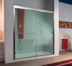 shower stall glass doors sliding shower doors custom sliding doors for showers and bathtubs