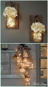 Diy Christmas Home Decor 12 Diy Christmas Mason Jar Lighting Craft Ideas Picture