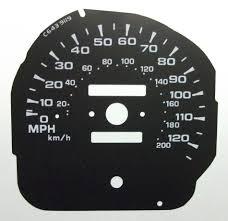 lexus v8 pajero conversion mitsubishi pajero kmh to mph speedo meter clocks dials