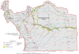 Southern Colorado Map by Downloads