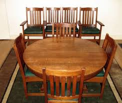 Craftsman Style Dining Room Furniture Voorhees Craftsman Mission Oak Furniture Vintage L U0026 J G