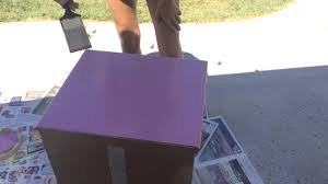 how to paint laminate furniture diy youtube