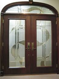 Home Depot Interior Double Doors Decor Solid Wood Home Depot Entry Doors In Cherry Finish For Home